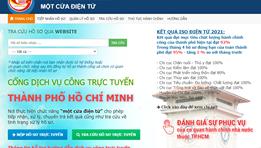 6 dịch vụ trực tuyến thuộc dịch vụ công mức độ 4 của Sở Thông tin và Truyền thông