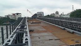 Cận cảnh cây cầu 80 tỷ ở TP.HCM sắp hoàn thành