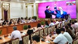 Cập nhật hình ảnh Hội nghị Triển khai kế hoạch thực thi EVFTA