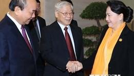 Tổng Bí thư, Chủ tịch nước dự Hội nghị triển khai Nghị quyết Quốc hội