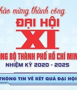 [Infographics] Chào mừng thành công Đại hội đại biểu Đảng bộ TPHCM lần thứ XI, nhiệm kỳ 2020 - 2025