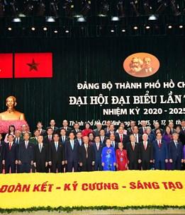 Thông cáo báo chí Kết quả ngày làm việc thứ nhất Đại hội Đại biểu Đảng bộ TPHCM lần thứ XI