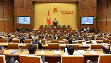 Lần đầu tiên, kỳ họp Quốc hội được tiến hành bán trực tuyến  