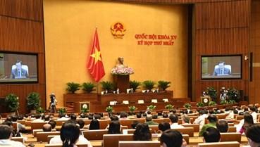 Bế mạc kỳ họp thứ nhất, Quốc hội khóa XV: Mục tiêu trên hết là chăm sóc và bảo vệ sức khỏe của nhân dân