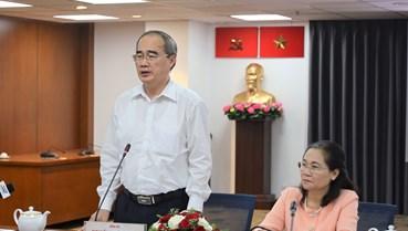 Bí thư Thành ủy Nguyễn Thiện Nhân: Đại hội của Đảng và cũng là Đại hội của Nhân dân