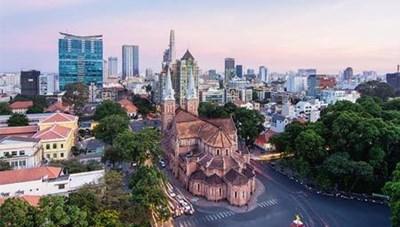 Điều chỉnh tổ chức giao thông trên đường Đồng Khởi và Công trường Lam Sơn, Q.1
