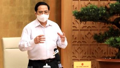 """Thủ tướng Chính phủ: """"Không được chủ quan, mất bình tĩnh trước tình hình dịch bệnh"""""""