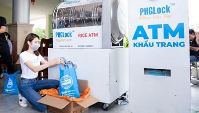 Hội Doanh Nhân trẻ Việt Nam kêu gọi ủng hộ mô hình ATM gạo tại TPHCM