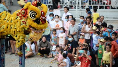 Lễ hội Nghinh Ông - Cần Giờ: Tưng bừng đường phố