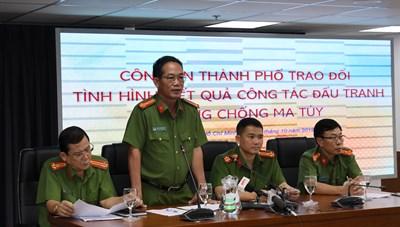 Công an Thành Phố Hồ Chí Minh khám phá 1.278 vụ án ma túy trong 09 tháng đầu năm 2019