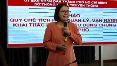 Một số cơ sở dữ liệu quan trọng đã được tích hợp về kho dữ liệu dùng chung của TP. Hồ Chí Minh
