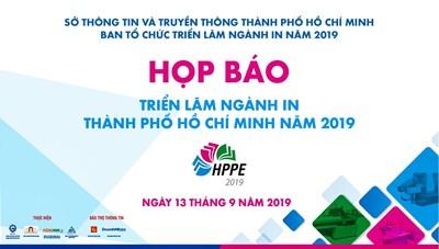 Họp báo Triển lãm ngành In Thành phố Hồ Chí Minh