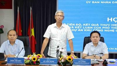Họp báo về tiến độ, kết quả thực hiện kết luận của Thanh tra Chính phủ về Kết luận của Phó Thủ tướng Thường trực Chính phủ tại Dự án Khu công nghệ cao, quận 9