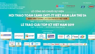 Lễ công bố chuỗi sự kiện Hội thảo toàn cảnh CNTT-TT VN lần thứ 24 và Lễ trao giải TOP ICT VN 2019