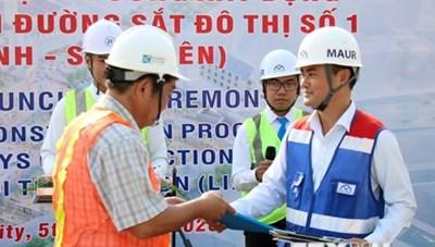 Tăng tốc để hoàn thành tuyến metro Bến Thành-Suối Tiên cuối năm 2021