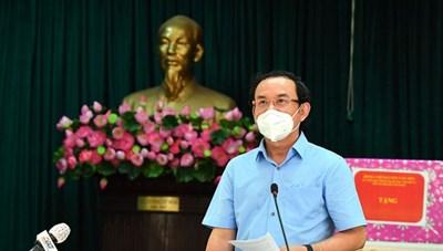 """Bí thư Thành ủy TPHCM Nguyễn Văn Nên: Vừa đảm bảo chống dịch, vừa đảm bảo """"sức khỏe"""" nền kinh tế"""