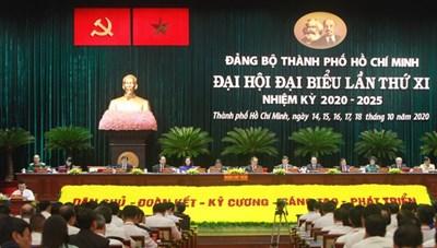 Hôm nay 14/10, Đại hội đại biểu Đảng bộ TPHCM lần thứ XI họp phiên trù bị