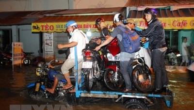 Các dự án chống ngập phát huy hiệu quả tại Thành phố Hồ Chí Minh