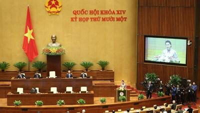 Quốc hội khóa XIV khai mạc kỳ họp cuối, bầu và phê chuẩn nhân sự cấp cao trong bộ máy nhà nước
