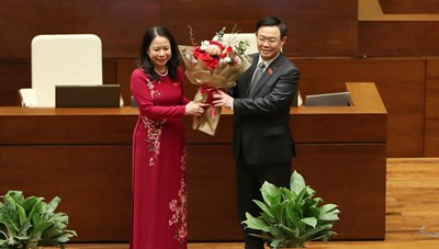 Đồng chí Võ Thị Ánh Xuân làm Phó Chủ tịch nước