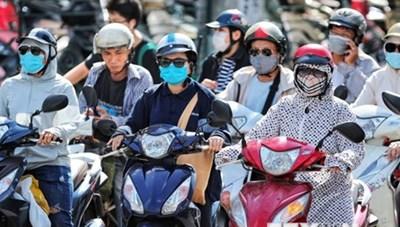 Chỉ số UV đại tại các tỉnh, thành duy trì ngưỡng nguy cơ gây hại
