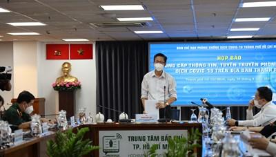 Thông tin về công tác phòng, chống dịch COVID-19 tại TPHCM ngày 30/8