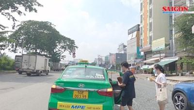 Tài xế taxi, xe công nghệ ở TPHCM mừng được lăn bánh trở lại