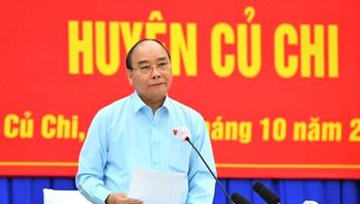 Chủ tịch nước Nguyễn Xuân Phúc sẽ trực tiếp cùng các ngành có buổi xúc tiến đầu tư vào huyện Củ Chi