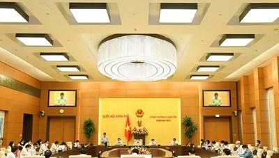 Hôm nay, khai mạc phiên họp thứ 4 của Ủy ban Thường vụ Quốc hội
