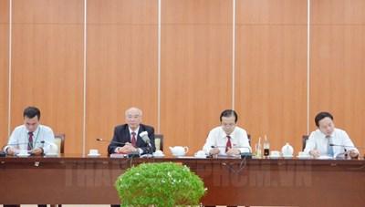 Số lượng Ủy viên Ban Chấp hành Đảng bộ TPHCM khóa XI gồm 65 đồng chí