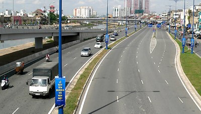 Điều chỉnh tổ chức giao thông trên đường Võ Văn Kiệt