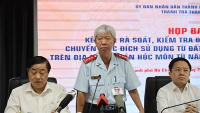 Thông tin về kết quả rà soát, kiểm tra đối với các trường hợp chuyển mục đích sử dụng từ đất nông nghiệp thành đất ở trên địa bàn huyện Hóc Môn