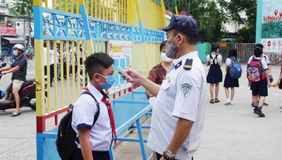 TPHCM: Thực hiện nghiêm các biện pháp phòng, chống dịch COVID-19 trong các cơ sở giáo dục