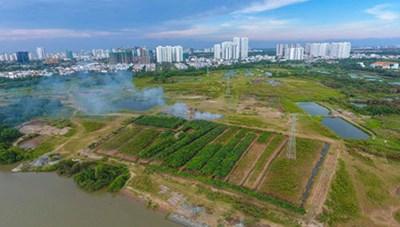 Kết luận thanh tra về Dự án xây dựng Khu nhà ở Tân An Huy tại xã Phước Kiển, huyện Nhà Bè