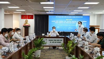 Thông tin nổi bật về công tác phòng, chống dịch COVID-19 tại TPHCM ngày 6/9