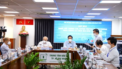 Thông tin nổi bật về công tác phòng, chống dịch COVID-19 tại TPHCM ngày 10/9