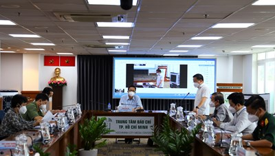 Thông tin họp báo về công tác phòng, chống COVID-19 tại TPHCM ngày 18/9