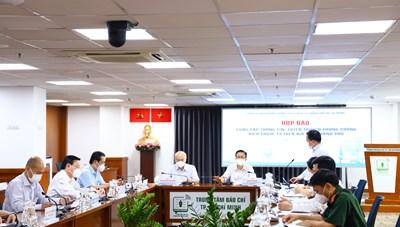 Thông tin họp báo về công tác phòng, chống COVID-19 tại TPHCM ngày 22/9