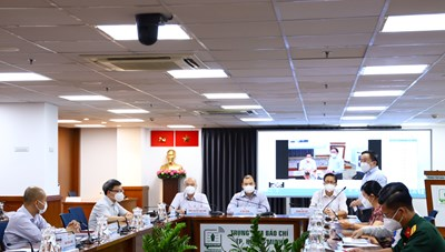 Thông tin họp báo về công tác phòng, chống COVID-19 tại TPHCM ngày 26/9