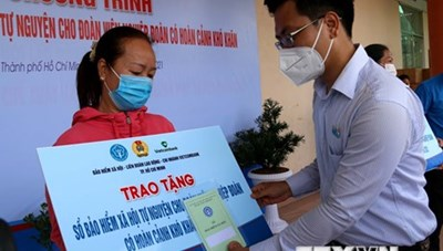 TP Hồ Chí Minh tặng 500 sổ BHXH tự nguyện cho đoàn viên nghiệp đoàn