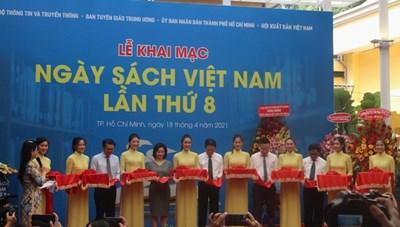 Khai mạc Ngày Sách Việt Nam 2021 tại Đường Sách TPHCM