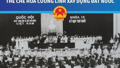 Quốc hội khóa IX: Thể chế hóa Cương lĩnh xây dựng đất nước