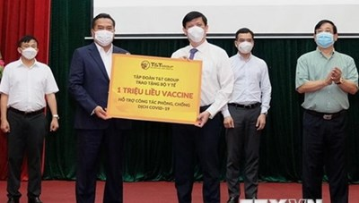 Thêm gần 150 tỷ đồng và 1 triệu liều vaccine để phòng dịch COVID-19
