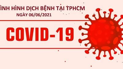 Cập nhật thông tin dịch bệnh trên địa bàn TPHCM ngày 06/06