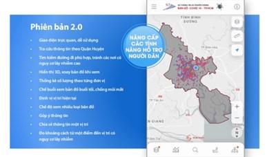 [Infographic] Chức năng mới của Bản đồ COVID-19 phiên bản 2.0