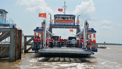 TPHCM tiếp tục dừng hoạt động bến phà Cần Giờ - Cần Giuộc từ 0 giờ ngày 2/8