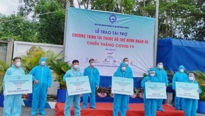 TP.HCM trao tặng 10.000 túi thuốc hỗ trợ các F0 điều trị tại nhà