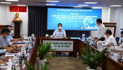 Thông tin nổi bật về phòng, chống dịch COVID-19 tại TPHCM ngày 16/9