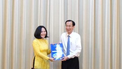 Bà Phan Thị Hồng làm Phó Giám đốc Sở Tài chính TPHCM