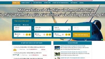 Xuất hiện tình trạng website bán vé bay giả mạo dịp cao điểm Tết